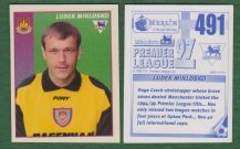 West Ham United Ludek Miklosko Czech Republic 491